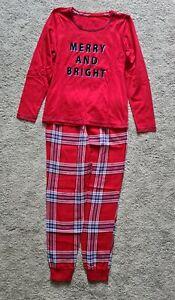 Ladies Christmas Pyjamas, Size 8-10