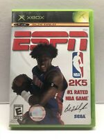 ESPN NBA 2K5 - Microsoft Xbox Game - Complete w/ Manual - Tested Working