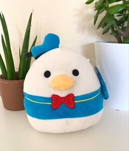 BNWT Donald Duck Disney Squad Squishmallow Soft Cuddly Animal Toy 7.5""