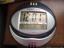 Orologi e sveglie da casa digitale in metallo