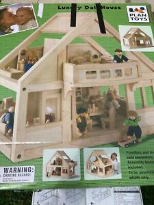 plan toys dolls house and furniture