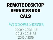 Remote Desktop Services RDS CALs User/Device Win Server 2012/2016/2019