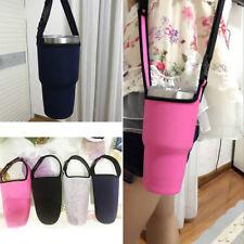 Protable Water Bottle Cup Cooler Carrier Cover Case Holder Random Color