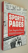 Vintage Sports Pages of the Los Angeles Times 1883-1983 NICE !!