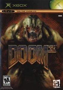 Xbox Video Game Doom 3