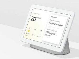 NEW Google Nest Hub with Google Assistant Chalk Charcoal Smart Display SEALED