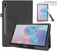"""Slim Smart Case for Samsung Galaxy Tab S6 SMT-860/865 10.5"""" FREE Glass Protector"""