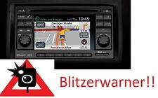 Nissan Connect Navigationsgerät Blitzerwarner Radarwarner immer Aktuell !!NEU!!