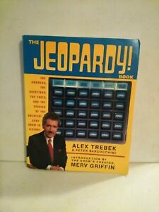 THE JEOPARDY BOOK by TREBEK & Barsocchini (Paperback, 1990)