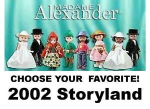 "McDonald's 2002-2010 Madame Alexander 3-4"" Dolls-Pick Your Favorite!"