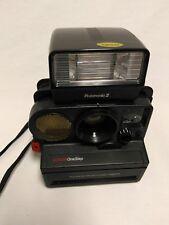 Polaroid Sonar OneStep sx-70 camera with Polatronic 2 Flash