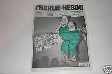 CHARLIE HEBDO N° 504 13 février 2002 Couverture CABU CHIRAC COLUCHE NEZ CLOWN *