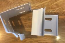 1 Pair White Brackets For Hunter Douglas Easyrise Honeycomb Shades - New