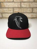 Rare Vintage NEW ERA Atlanta Falcons NFL 9Fifty Snapback Black & Red Hat M-L