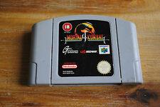 Jeu MORTAL KOMBAT 4 pour Nintendo 64 N64