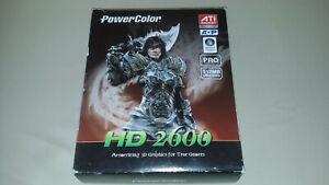 PowerColor ATI Radeon HD 2600 PRO, AGP 8x, Video Card, 512MB/128-Bit, DDR2