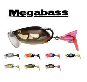 Megabass Batra X Floating Transformation Soft-Body Frog 5/8oz (Choose Color)