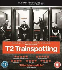 T2 Trainspotting 2 Blu-ray With Slip Cover Sleeve Brand New Sealed