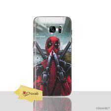 Deadpool Case/Cover Samsung Galaxy S7 Edge / Screen Protector / Silicone Gel TPU