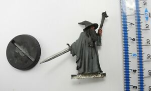GANDALF THE GREY (on foot) Metal Lord of the Rings Good Army Wizard Warhammer 5