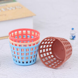1:12 Dollhouse Miniature Storage Basket Laundry Basket DollVegetable Food Bas Jw