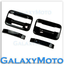 04-14 Ford F150 Truck Gloss Black 2 Door Handle+keypad+no PSG keyhole Cover