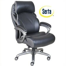 Serta At Home Big And Tall Executive Office Chair Black