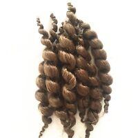 Reborn Doll Supplies Premium Curly Dark Brown Mohair Baby Supplies 20g handmade!