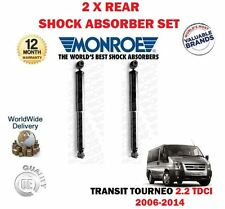 FOR FORD TRANSIT TOURNEO 2.2 TDCI 2006-2014 NEW 2 X REAR SHOCK ABSORBER SET