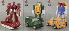NEW  Transformers Masterpiece FinalVictory Minibot set of 3 Brawn Huffer Warpath