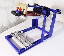 Curved Screen Printing Machine Manual Cylinder Press Printer Kit 170mm Dia