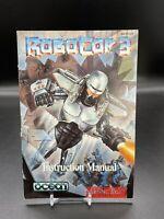 RoboCop 3 Super Nintendo Instruction Manual Booklet Only SNES