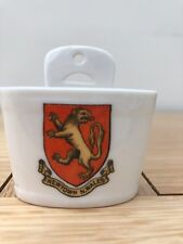 W H Goss Swiss Milk Bucket - Crest for Newtown N Wales