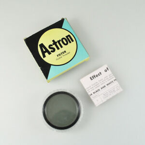 Astron Filter - 58mm - Pola - Polarizing - Double Threaded - Made IN Japan