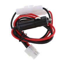 30A 3M Fuse 6 PIN Car Charger Power Cord Cable For Yaesu FT-857D FT-897D