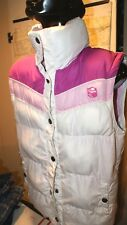 Womens O'neill Winter Puffer Vest Size L Large