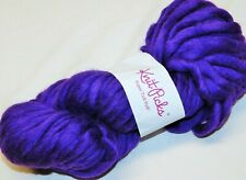 Royal Purple BIG 200gr Skein Knit Picks SUPER TUFF PUFF Jumbo Wool SOFT Sgl YARN