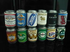 12 Mix Beers Cans Packs Dollhouse Miniature Beverage Drink