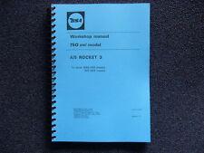 BSA A75 ROCKET 3 WORKSHOP MANUAL 1968 TO 1972 MODELS