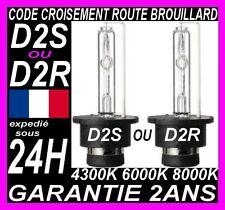2 AMPOULES D2S D2R XENON 35W 6000K 8000K LAMPE AUDI BMW MERCEDES PEUGEOT RENAULT