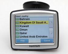 TomTom V8 GPS Navigation + 2017 Turkey, Bahrain Kuwait Oman Qatar Saudi UAE Maps