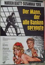 le Mann le tous Banques fait exploser Beatty Affiche du film å