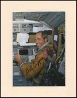 """Bob Crippen NASA Astronaut Original Signed 10x8"""" Mounted Autograph Photo COA"""