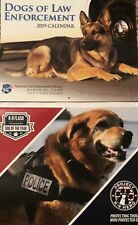 """Two New 2019 Leo K-9 Calendars - """"Dogs Of Law Enforcement� & """"Project K-9 Hero�"""
