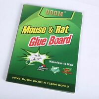 5PIECES NEW Trapper Sticky Glue Mice Traps Board Rodent Mouse Rat Bugs Safe