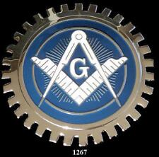 MASONIC LODGE (MASONS) CAR GRILLE BADGE EMBLEM