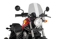 PUIG NAKED N.G. TOURING SCREEN HONDA REBEL 500 17 LIGHT SMOKE