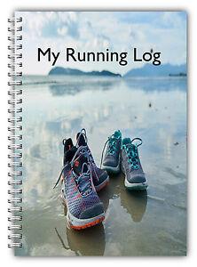 RUNNING LOG BOOK, A5 NON PERSONALISED RUNNERS DIARY, RUNNING TRACKER JOURNAL 06