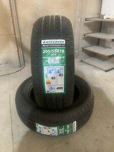 2 NEW 2055516 205 55 16  AUTOGREEN SC2 91 V TWO TYRES A WET GRIP
