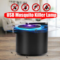 USB LED Electric Mosquito Zapper Killer Fly Insect Bug Trap Lamp Light Tool